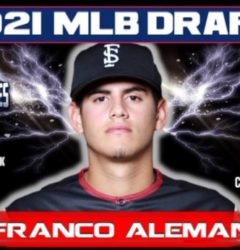 2021 MLB Draft: Franco Aleman, 306th Overall, Cleveland Indians