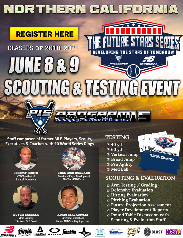 Northern California Scouting & Testing